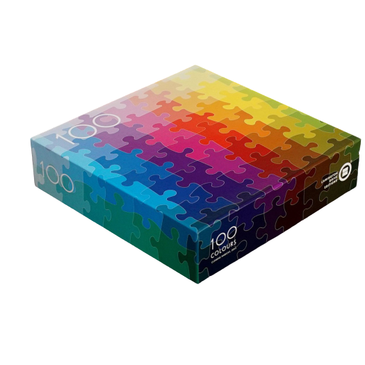 Clemens Habicht x The Jacky Winter Group - 100 Colours Jigsaw Puzzle