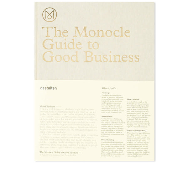 Monocle Guide To Good Business - Hardcover