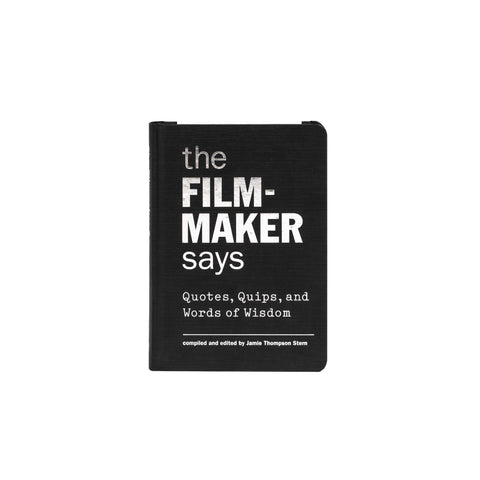 Filmmaker Quotes - Hardcover