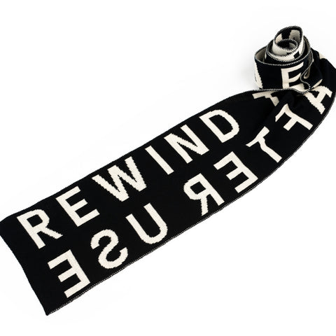ACMI Identity - Rewind Tape After Use - Wool Scarf
