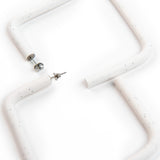 Kitsu - Square Hoops - Earrings