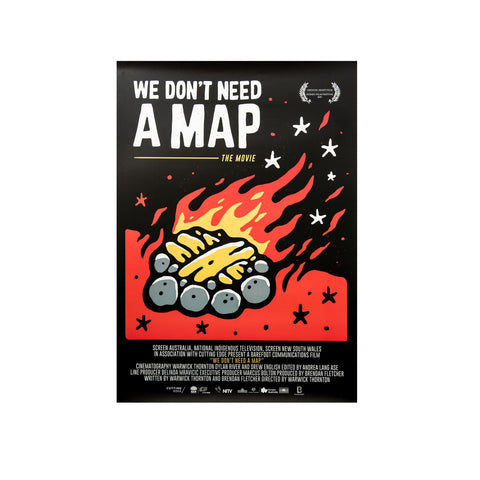 We Don't Need a Map - Poster