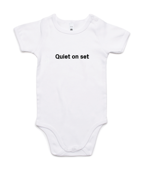 ACMI Identity - Quiet on Set - Baby Romper