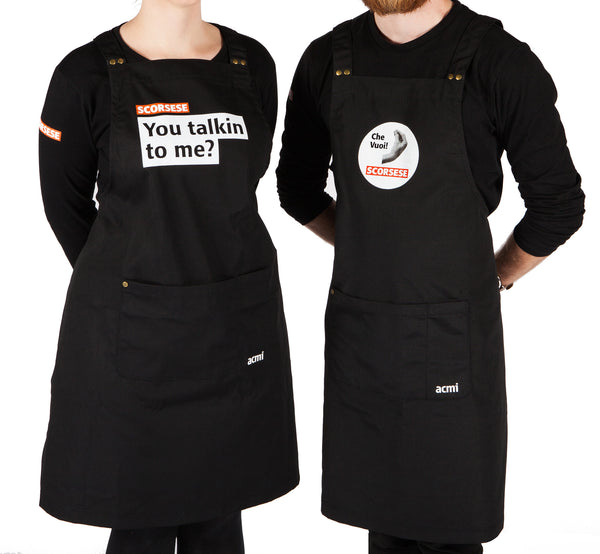 Exclusive ACMI Scorsese Exhibition Apron You Talkin to Me