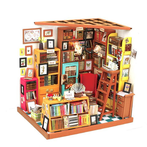 DIY Mini House Kit - Sam's Study