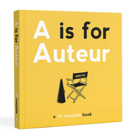 A Is For Auteur Book - Hardcover