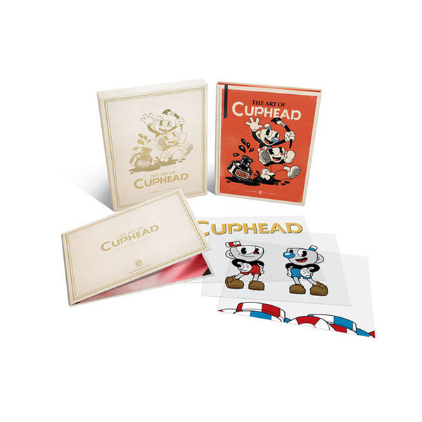 The Art of Cuphead Limited Edition - Hardcover