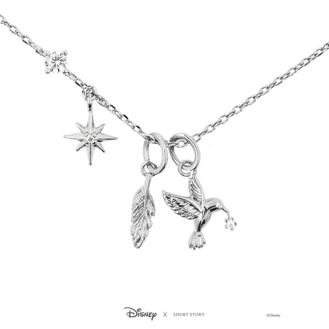 Short Story - Pocahontas Silver Necklace