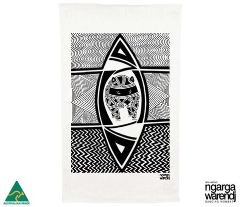 Ngarga Warendj - Tea Towel