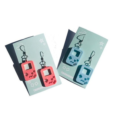 This Kawaii Life - GB Controller Drop Earrings