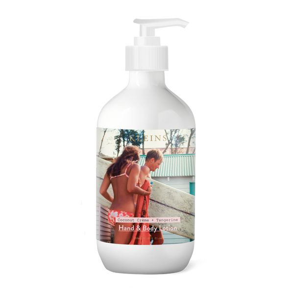 Kleins Perfumery - Surfer with Girl Hand & Body Lotion