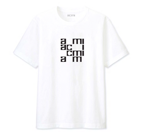 ACMI Identity - Short-sleeved White Tee