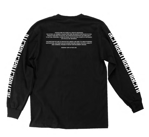 ACMI Identity - Long-sleeved Black Tee