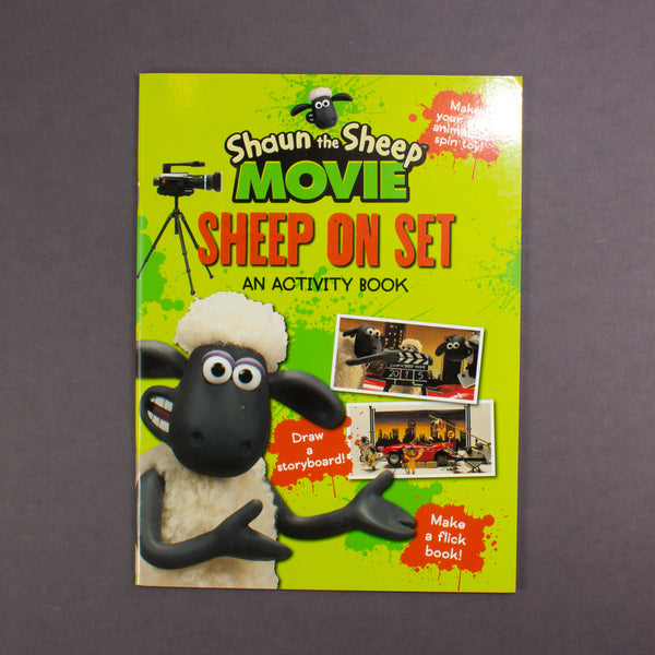 Shaun The Sheep On Set Activities - Softcover