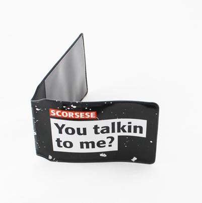 Scorsese - You Talkin To Me? - Travel Pass Holder