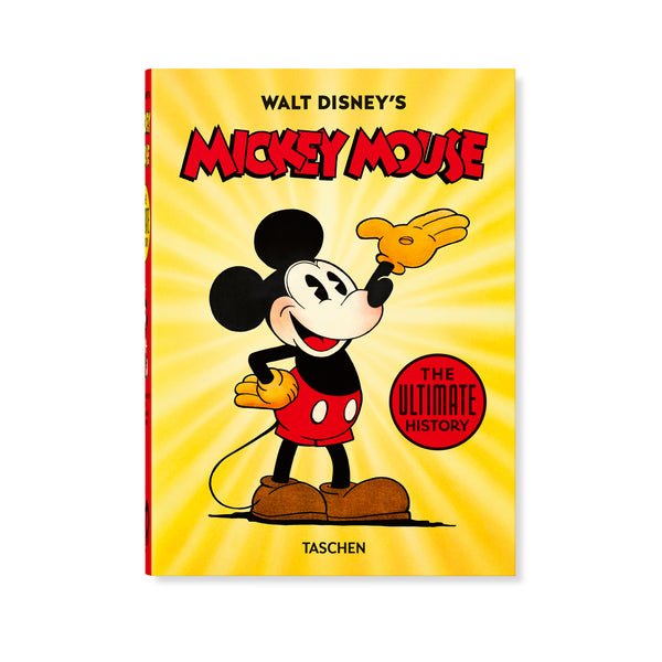 Walt Disney's Mickey Mouse: The Ultimate History - Hardcover