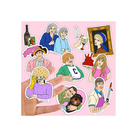 Cactvs - Kath and Kim Sticker Pack