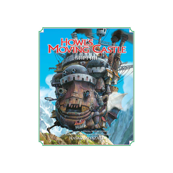 Studio Ghibli - Howl's Moving Castle Picture Book - Hardcover