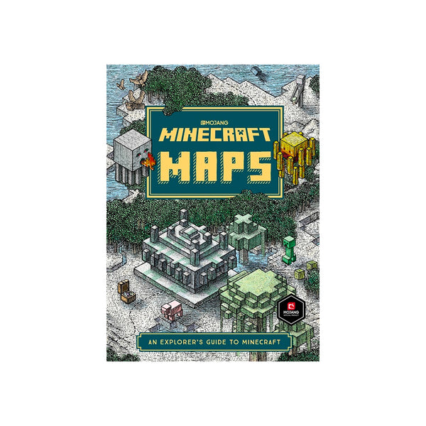 Minecraft Maps - Hardcover