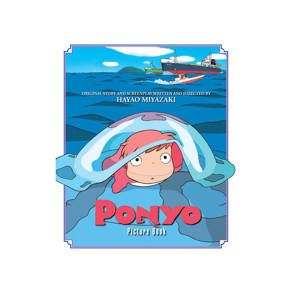 Studio Ghibli - Ponyo Picture Book - Hardcover