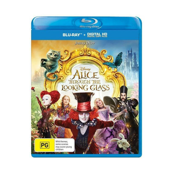 Alice Through the Looking Glass (Disney 2016) - Blu-Ray