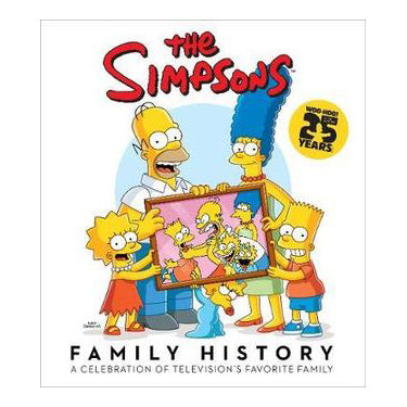 The Simpsons Family History - Hardcover