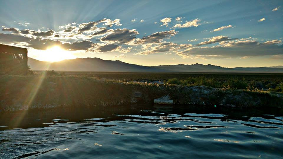 Spencers Hot Springs, Central Nevada