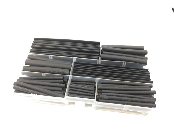 148-Piece Heat Shrink Tubing Set with Assorted Sizes