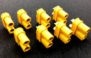 Yellow XT30U-F 8 Pack Female (Battery)