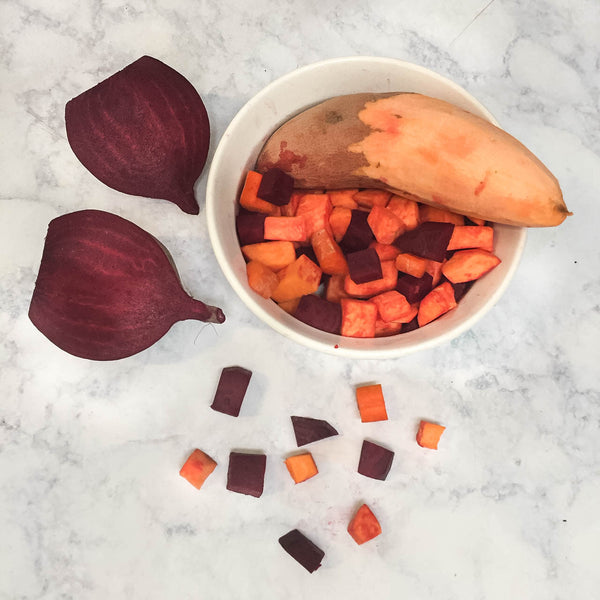 Beets & Sweet Potato