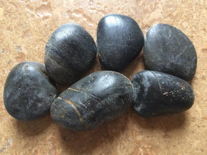 BLACK SAND, GARDEN PEBBLES - Ka'ili ili, Pebble Series