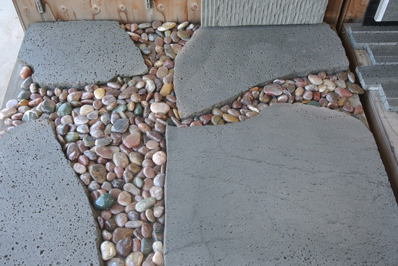 WATERFALL MIXED, GARDEN PEBBLES - Ka'ili ili, Pebble Series