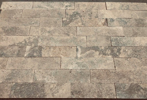 CHOCOLATE Travertine sandblasted/brushed/filled - Tile Series