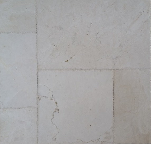 CASCADE WHITE Brushed Marble - Tile Series
