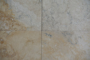 PANIOLO Travertine Brushed/Filled - Tile Series