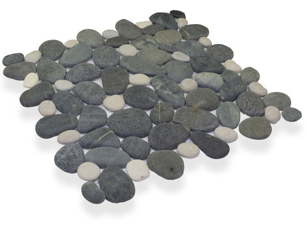 MEDAN CHARCOAL/ FRENCH TAN, CELESTIAL PEBBLE - Island, Pebble Series