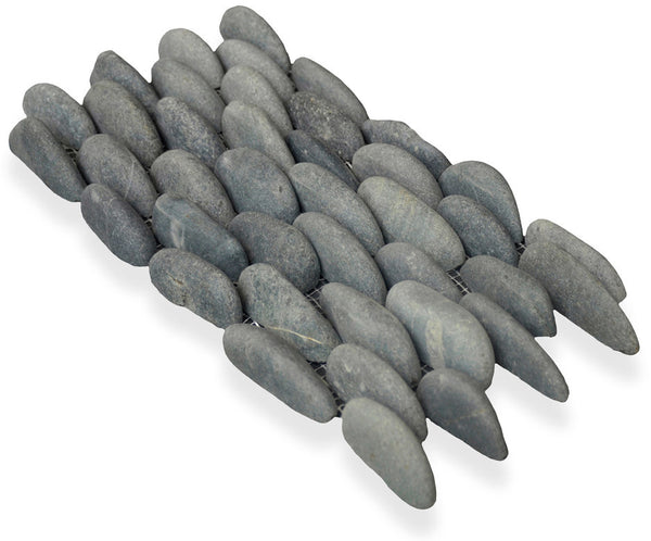 MEDAN CHARCOAL, STACKED PEBBLE - Island, Pebble Series