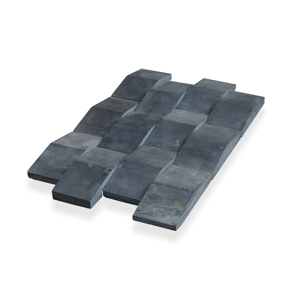 SUTRA BLACK, NEW WAVE TILE - Island, Profiles Series