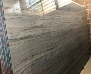 BRILLANT GREY Quartzite - Slab Series