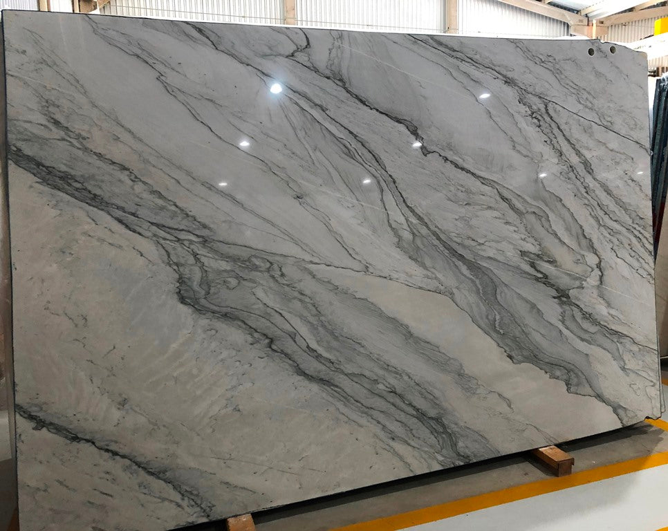 INFINITY WHITE Quartzite - Slab Series