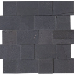 ABSOLUTE BLACK, 3D RECTANGLE - Havai'iano, Cladding Series
