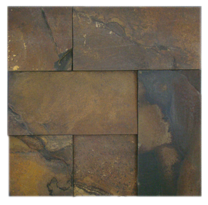 IRON ROCK (FERRUGEM), UNEVEN RECTANGULAR- Havai'iano, Cladding Series