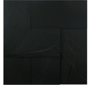 ABSOLUTE BLACK, UNEVEN RECTANGULAR - Havai'iano, Cladding Series