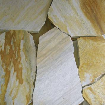 DAFFODIL YELLOW Quartzite - Paver & Flagstone Series