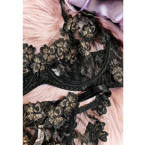 Ornella Luxury Lingerie Black