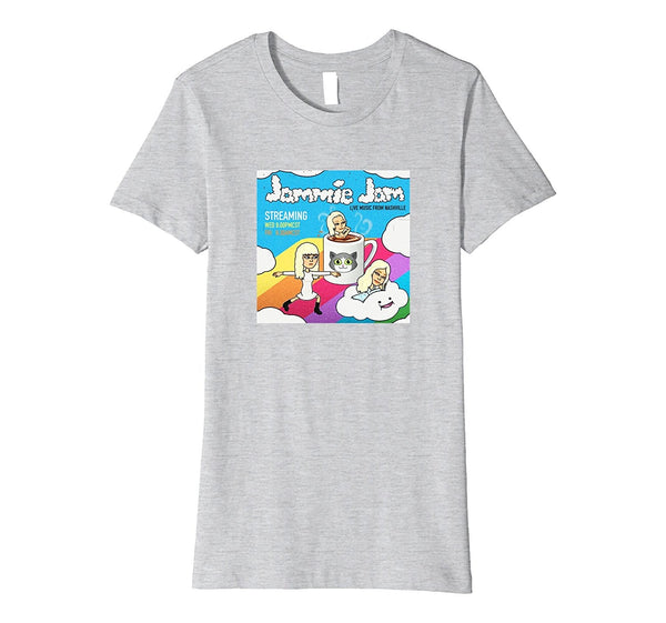 JAMMIE JAM LOGO T - WOMENS (slim fit)
