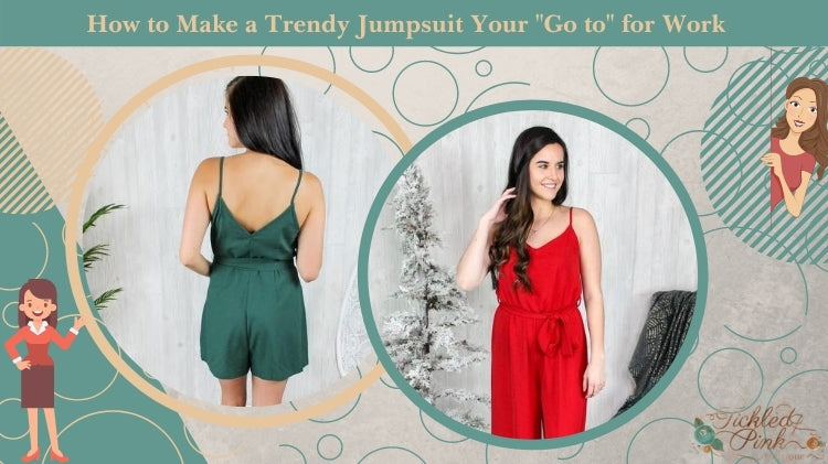 How to Make a Trendy Jumpsuit Your