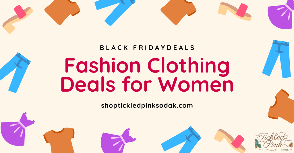 Top 10 Black Friday Fashion Clothing Deals for Women