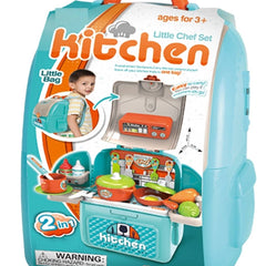 Chef Kitchen In A Backpack