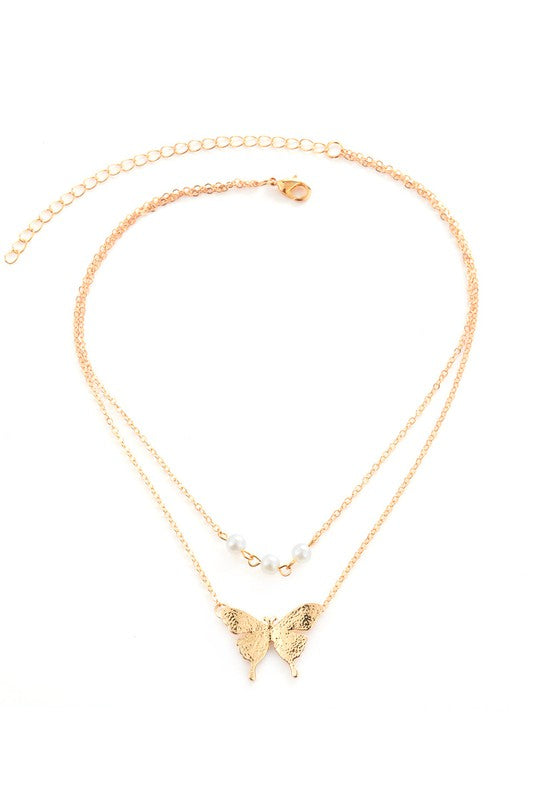 Butterfly Necklace 04121